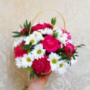 Цветы в корзине 00397
